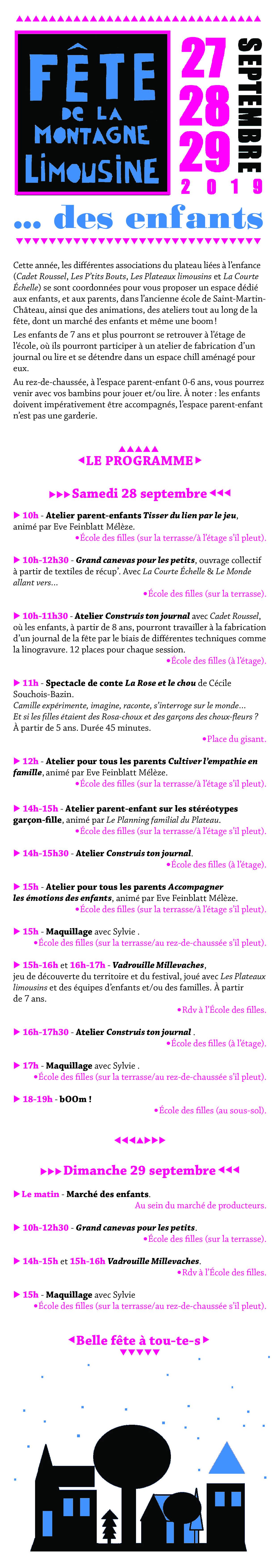 Infos Pratiques Fête De La Montagne Limousine